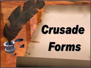 Crusade Forms Hyperlink