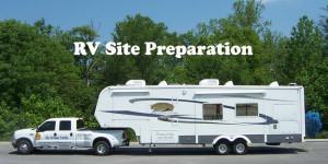 RV Site Preparation