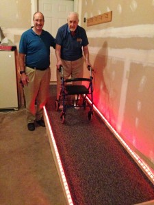 5 - Dad's New Ramp with Lighting