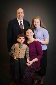 2015 Tim, Susan, and Rachel Vermaas with Dusty