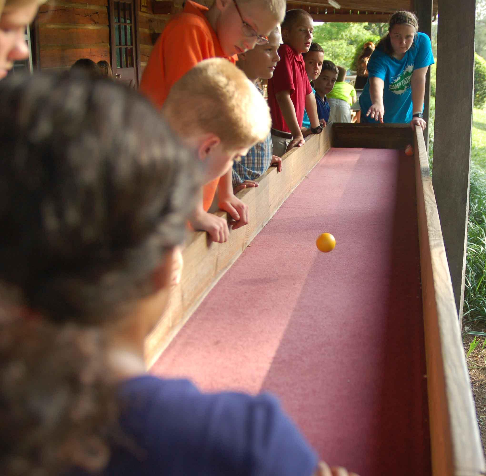 camp fairview carpet ball - Carpet Ball Table