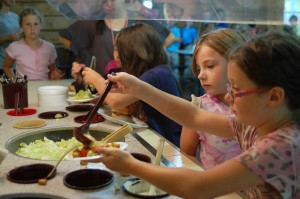 Camp Fairview Salad Bar