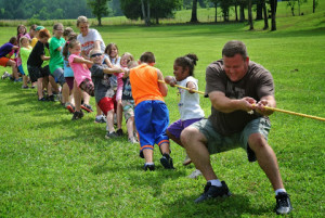 Camp Fairview Tug of War 1