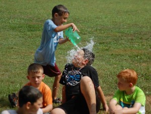 Camp Fairview Water Games